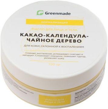 ГринМейд - Масло для лица и тела Какао-Чайное Дерево для  кожи, склонной к воспалениям
