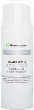 ГринМейд - Гель для бритья Мужской, гидрофильный для всех типов кожи