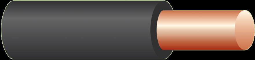 Провод ПВ1/ПуВ 1х4  100м белый (ГОСТ) (РЭМЗ г Рыбинск)  установ. медный жесткий изоляция ПВХ
