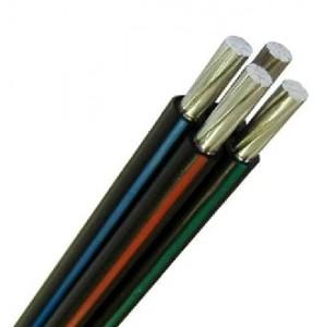 Провод СИП-2 3х50+1х70 (ГОСТ) самонесущий алюмин. изоляция ССПЭ 0,6/1кВ