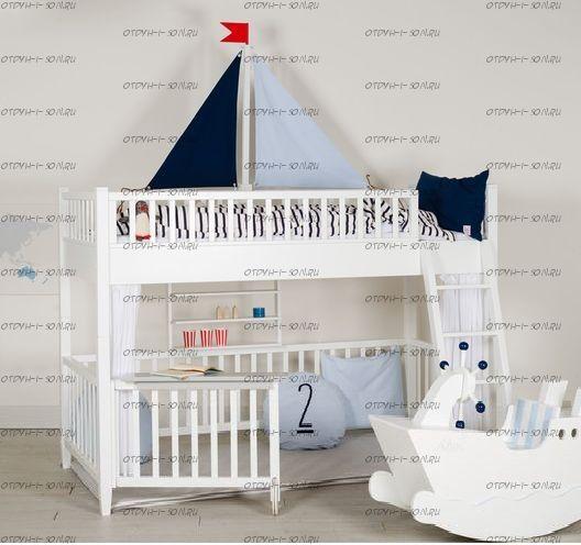 Кровать двухъярусная Малинка №9