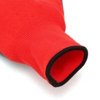 Нейлоновые перчатки с нитриловым покрытием, 12 пар, цвет красный (3)