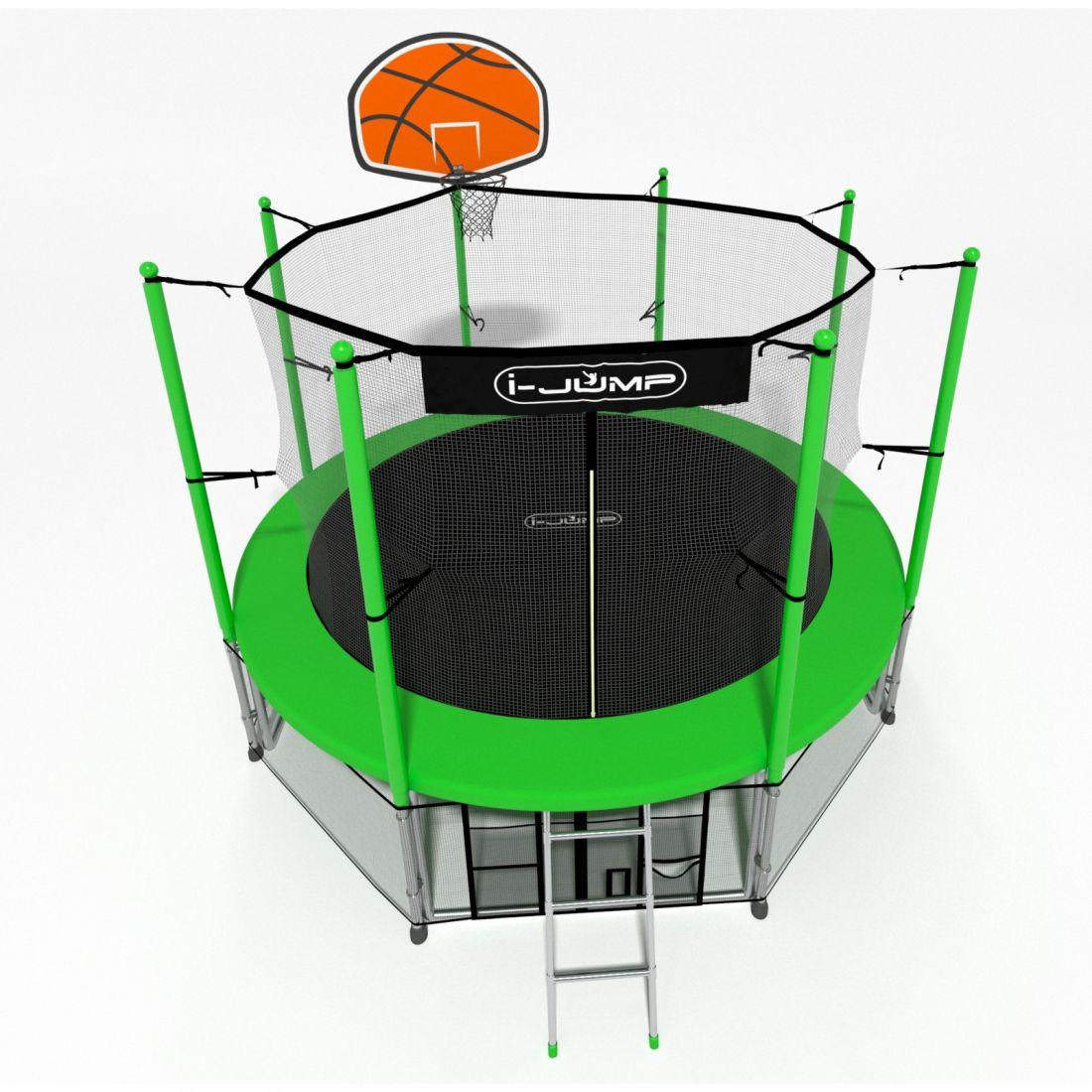 Батут i-Jump Basket 10ft green