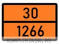 Табличка 30-1266