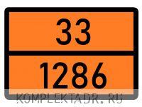 Табличка 33-1286