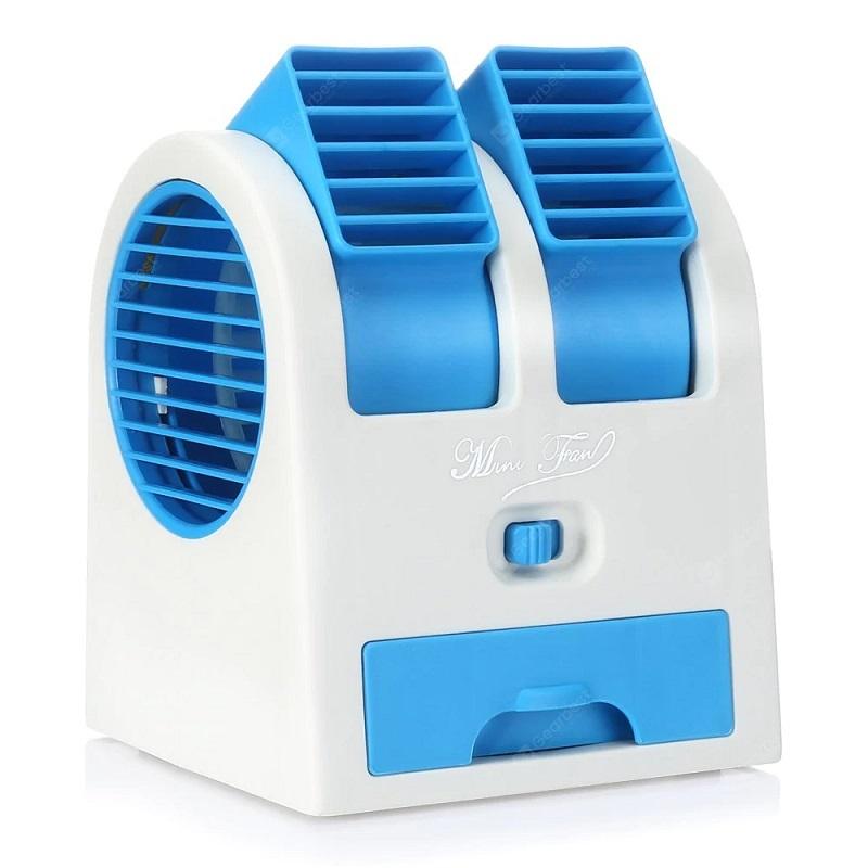 Настольный Кондиционер-Вентилятор HY-168, Цвет Голубой