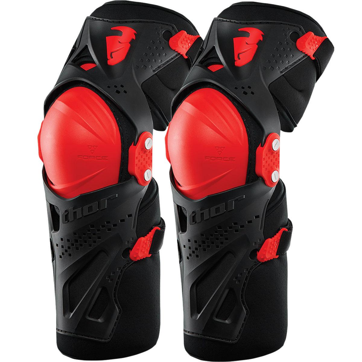Thor - Force XP Red защита колена, красные