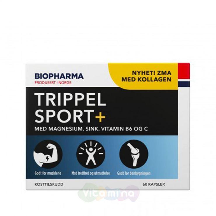 Trippel Sport+ Минеральный комплекс для активных, 60 капсул