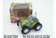 Умная машинка. 1:32 Полицейская машина-перевертыш (свет. звук. в коробке 14x10 см) (арт. 1247355)