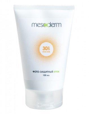 Фотозащитный крем MESODERM SPF30, 100 мл