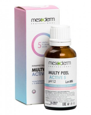 Мульти Пил Актив 5 (АНА кислоты, 40%) 30 мл, MESODERM