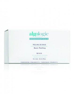 Молочно-салициловый химический пилинг для лица базовый (для жирной кожи) 10 шт. х 3 мл. Algologie