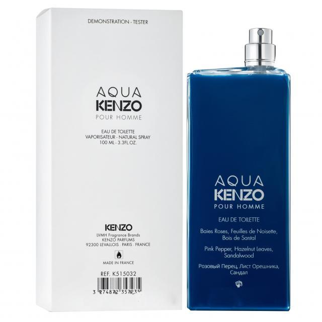 Tester Kenzo Aqua pour homme 100ml