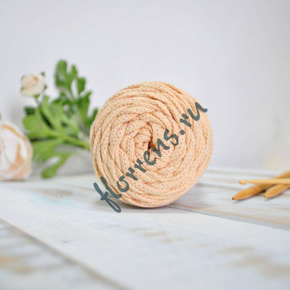 Шнур для вязания / персик