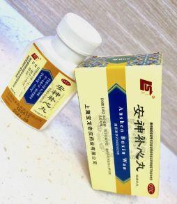 Anshen Buxin Wan Ань Шэнь Бу Синь Вань 200 пилюль
