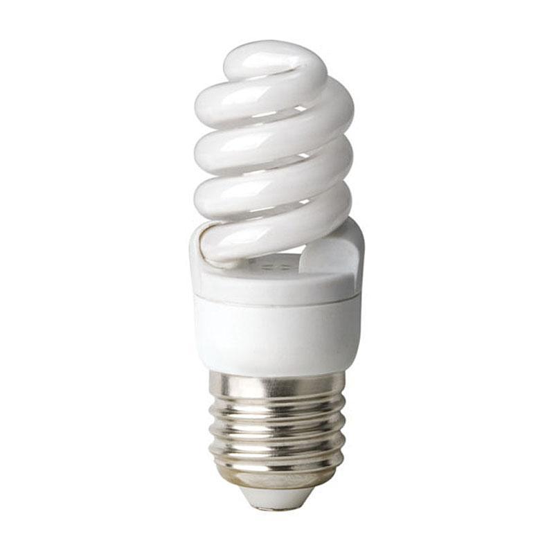 Лампа энергосберегающая (01155) E27 8W 2700K матовая ESL-S41-08/2700/E27