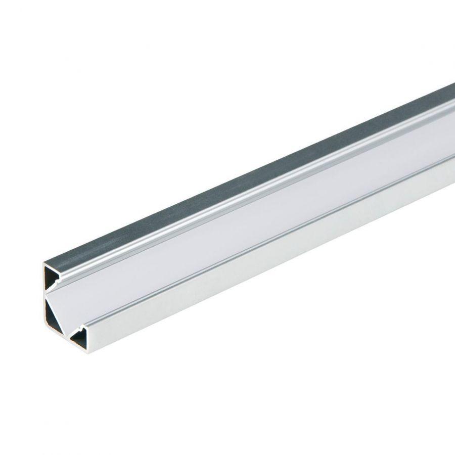 Профиль (UL-00004052) Uniel UFE-A13 Silver 200 Polybag