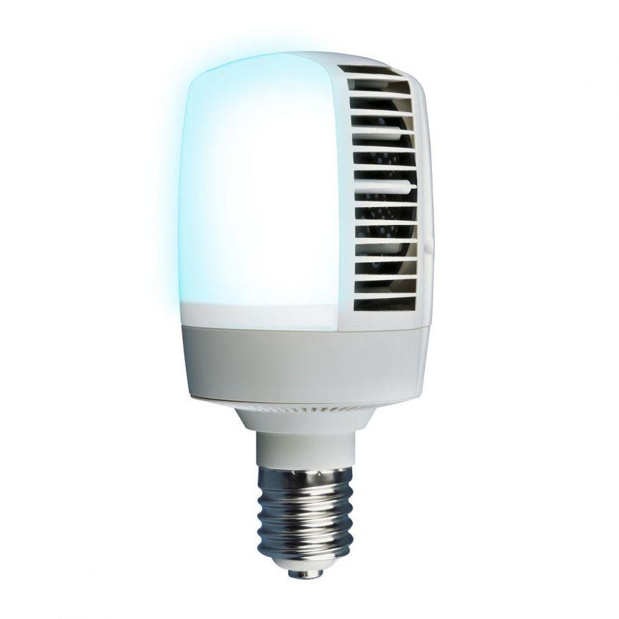 Лампа светодиодная (UL-00001813) E40 70W 4000K матовая LED-M105-70W/NW/E40/FR ALV02WH