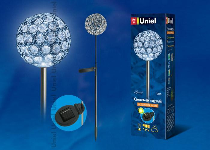 Светильник на солнечных батареях (08964) Uniel USL-S-064/MT730 Sirius