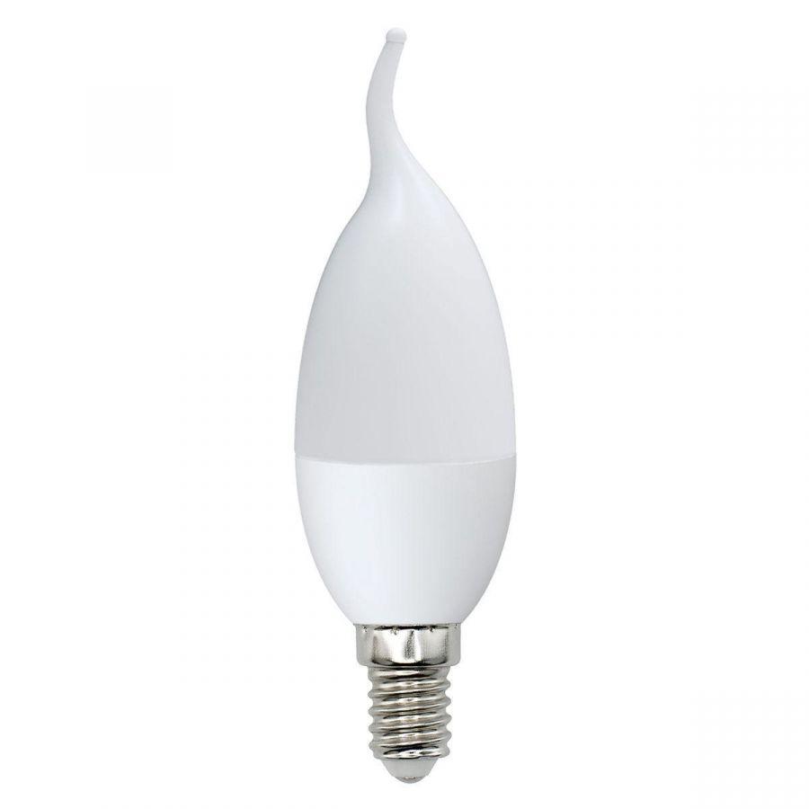 Лампа светодиодная (UL-00000307) E14 6W 4100K матовая  LED-CW37-6W/NW/E14/FR/O