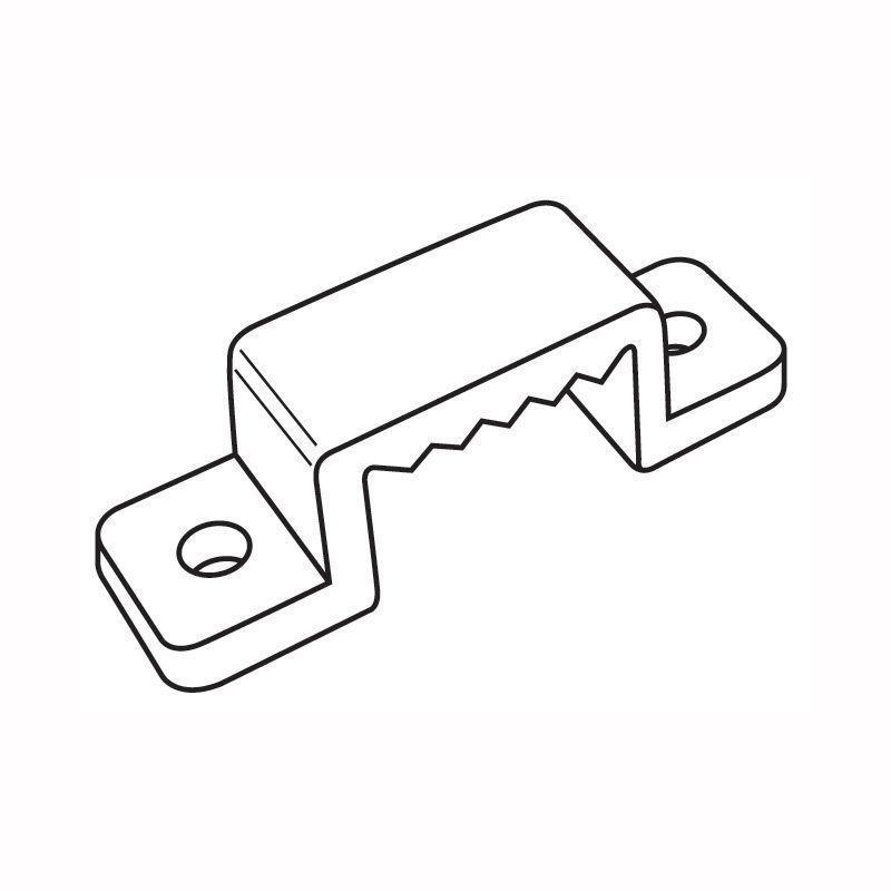 Крепление для светодиодной ленты (10972) Volpe UCC-Q220 K14 Clear 050 Polybag