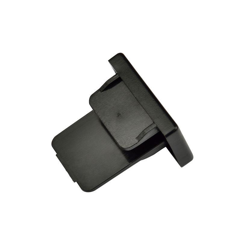 Заглушка торцевая (UL-00001278) Volpe UFB-Q121 C21 Black 1 Polybag