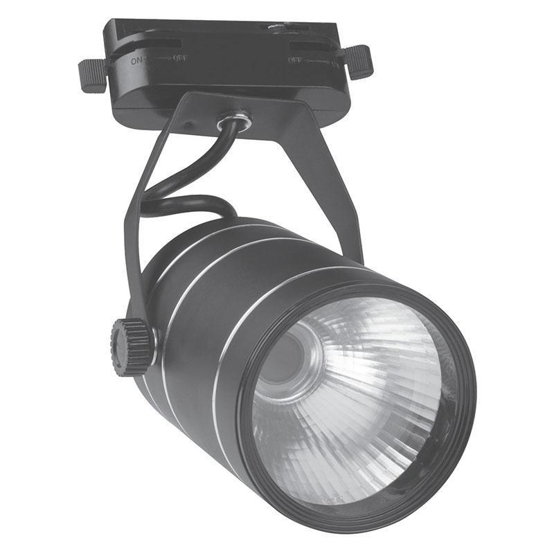 Трековый светодиодный светильник (10964) Volpe 4500K ULB-Q251 9W/NW/K Black