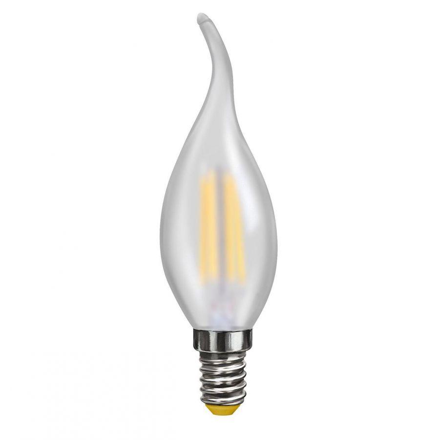 Лампа светодиодная филаментная Voltega E14 4W 4000К матовая VG10-CW2E14cold4W-F 7007