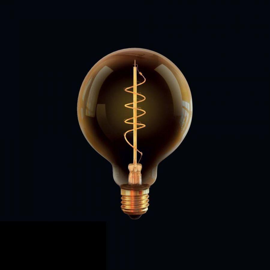 Лампа светодиодная диммируемая Voltega E27 4W 2800К прозрачная VG10-G95GE27warm4W-FB 7076