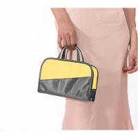 Дорожная косметичка со съёмным отделением Travel Bag, цвет Серо-жёлтый (3)