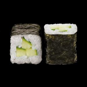 Маки ролл с огурцом и сливочным сыром 220г