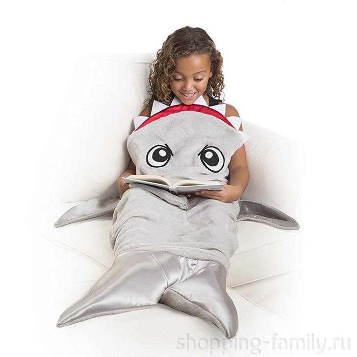 Одеяло-плед Акула