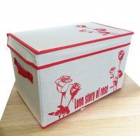 Короб для хранения вещей Love Story Of Rose, 38х26х26 см