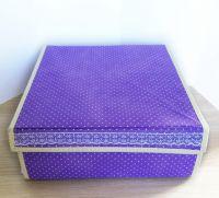 Складной короб для хранения вещей с 16-ю ячейками, 31х31х12.5 см
