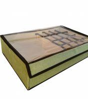 Короб для хранения с ячейками и прозрачной крышкой, 44х27х11 см