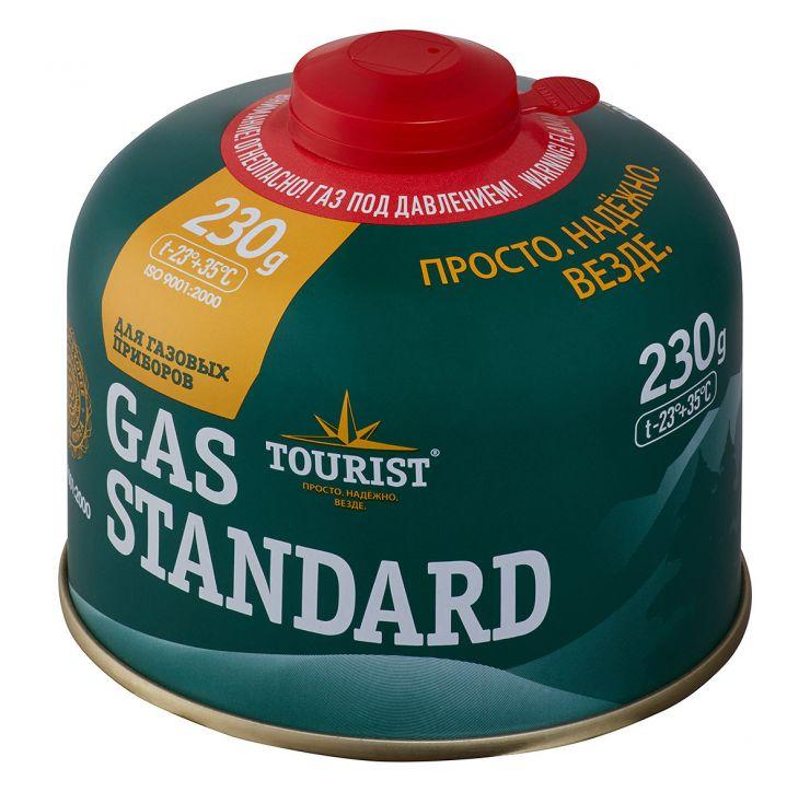 Газовый баллон TOURIST TBR-230 (изобутан/пропан/бутан)