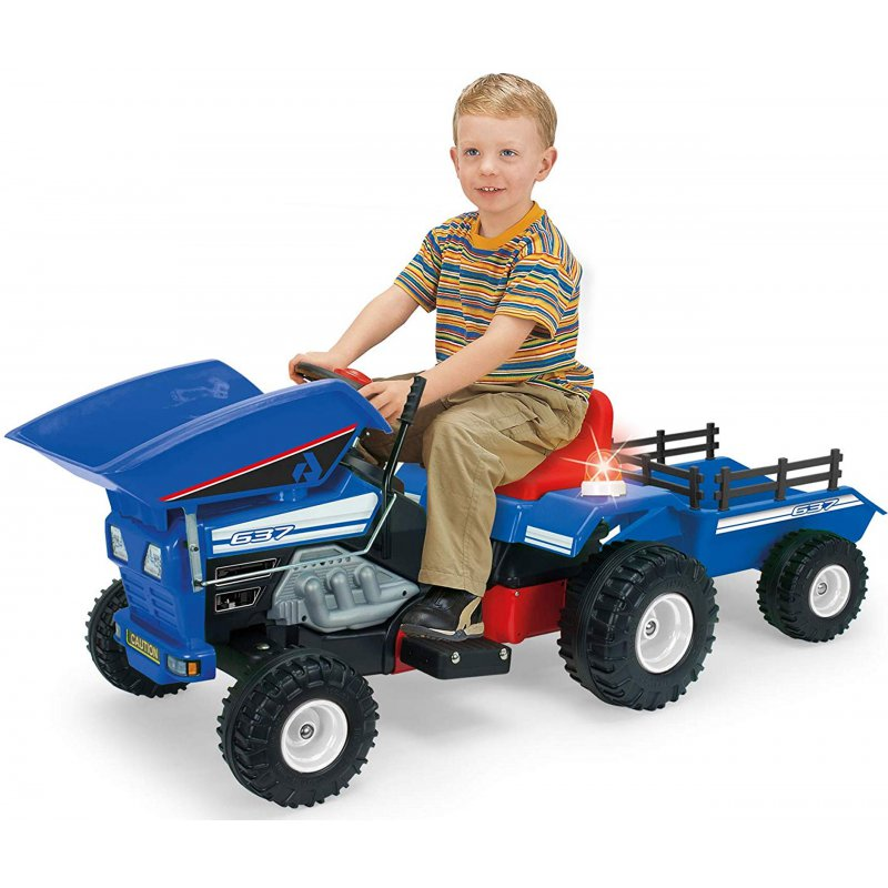 Трактор на аккумуляторе Injusa 12V 637