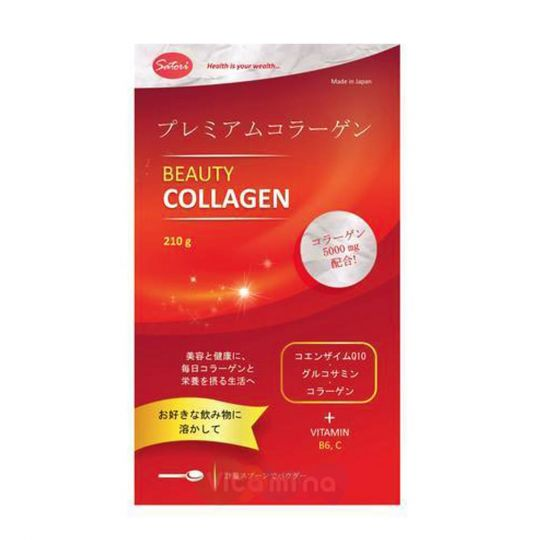 Японский премиум коллаген Beauty Collagen Satori, 210 гр