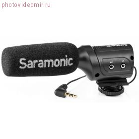 Микрофон-пушка Saramonic SR-M3