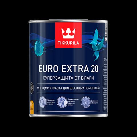 Евро Экстра 20 (Euro Extra 20) краска для влажных помещений
