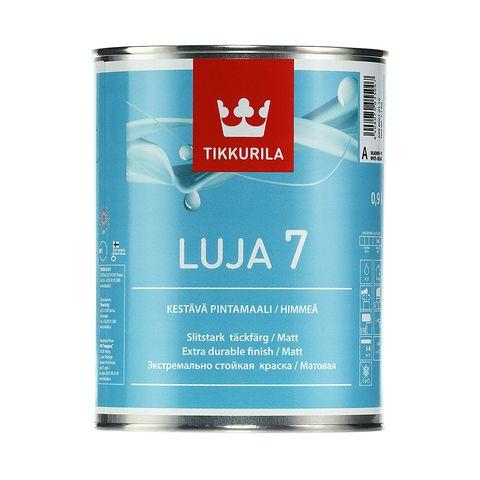 Краска для стен и потолков Luja 7, матовая