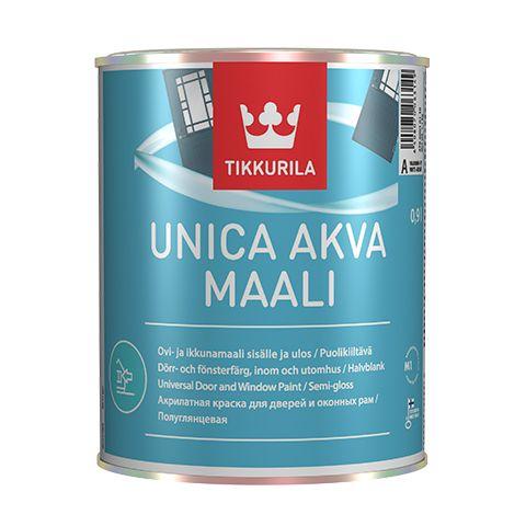Уника Аква - Unica Akva краска для дверей и оконных рам