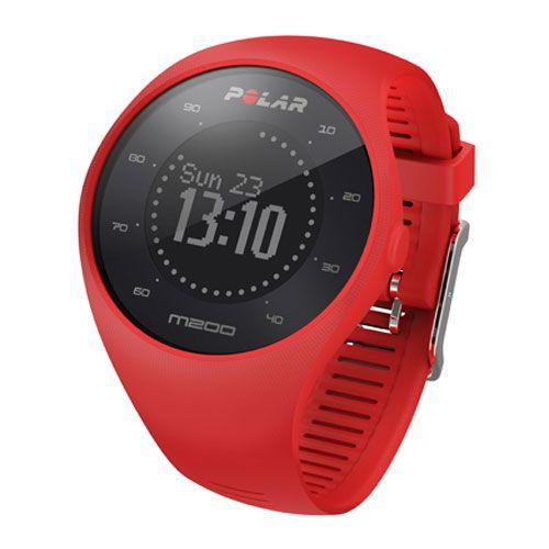 Монитор сердечного ритма POLAR M200, цвет: красный