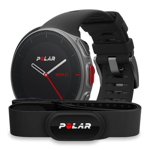 Мультиспортивные GPS-часы POLAR Vantage V с датчиком H10, цвет: черный