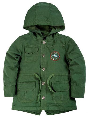 Куртка-парка с капюшоном для мальчиков 1-4 лет Bonito хаки