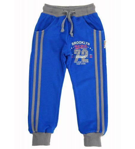 Спортивные брючки для мальчика 2-5 лет Bonito kids синие