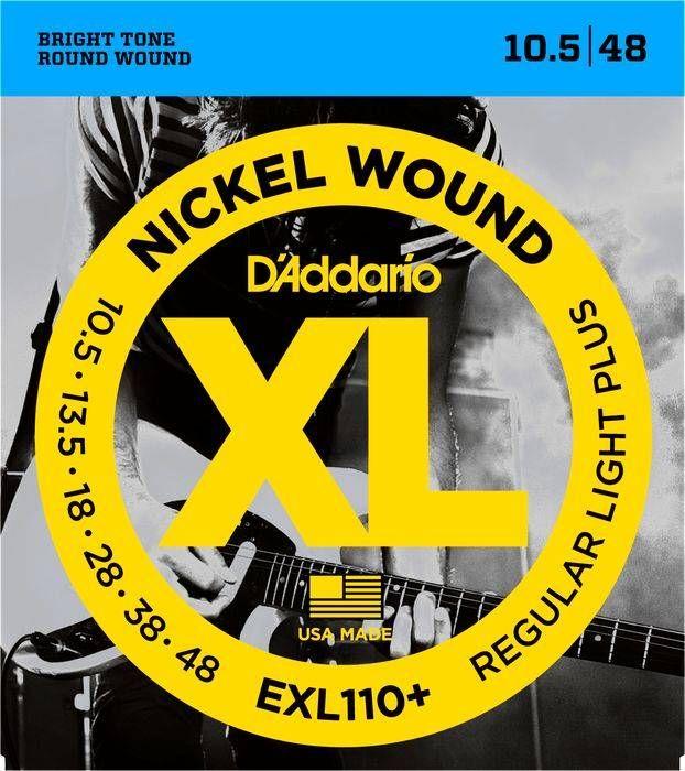 D`ADDARIO EXL110+ (10.5-48) Струны для электрогитары