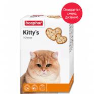 Beaphar Kitty's + Cheese Кормовая добавка для кошек со вкусом сыра (180 табл.)