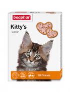Beaphar Kitty's Junior + Biotine Кормовая добавка для котят с биотином (150 табл.)