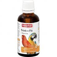 Beaphar Trink + Fit Кормовая добавка для птиц (50 мл)